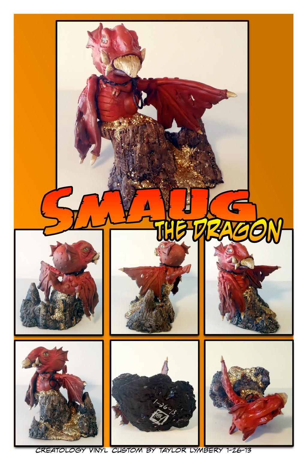 Smaug the Dragon Custom Vinyl Toy