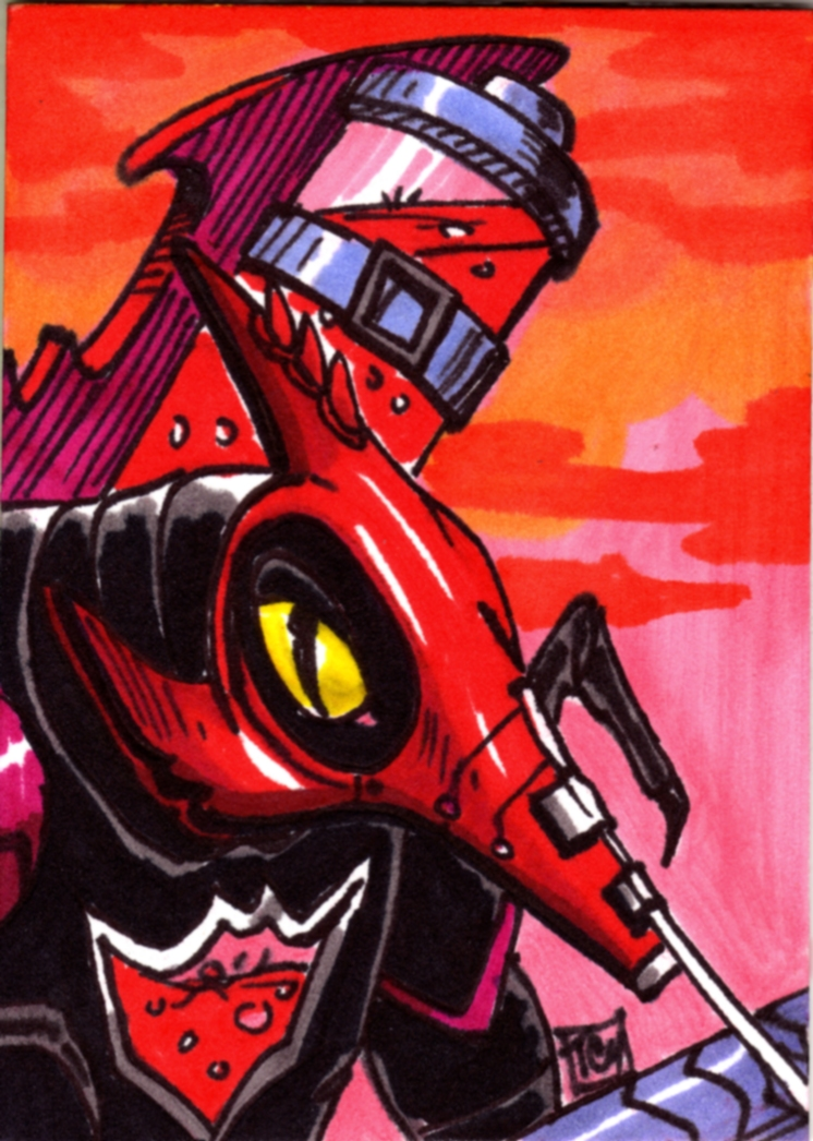 Mosquitor Sketch Card