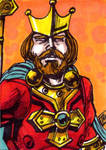 King Randor Sketch Card