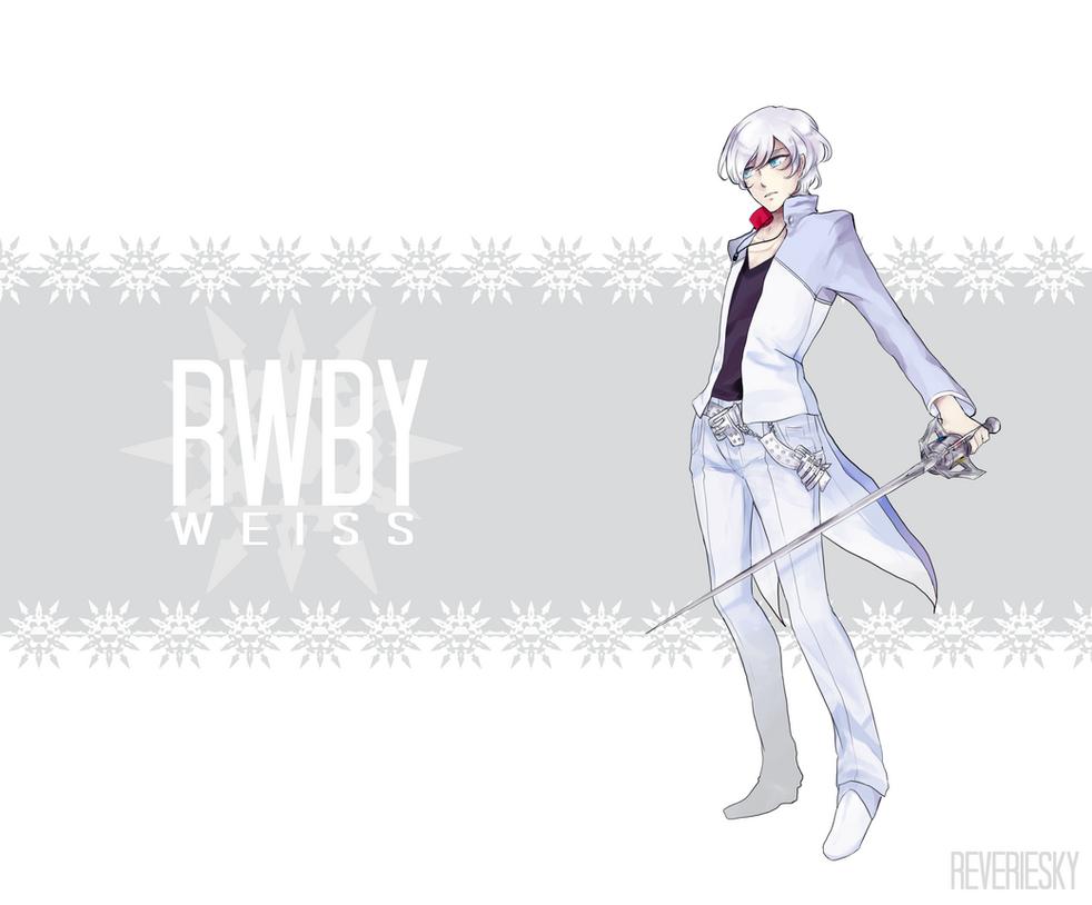 Rwby White Fan Art RWBY Eis by reveriesky