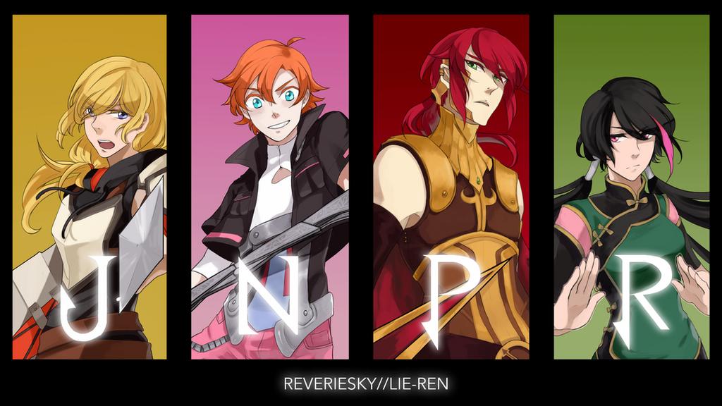 RWBY: JNPR by reveriesky