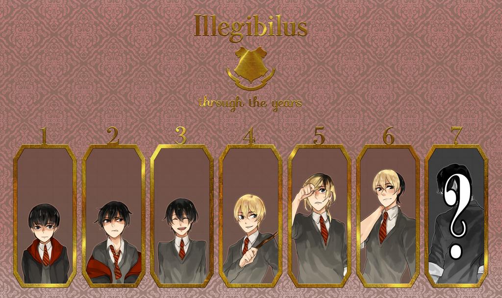 Illegibilus - Through the Years by reveriesky