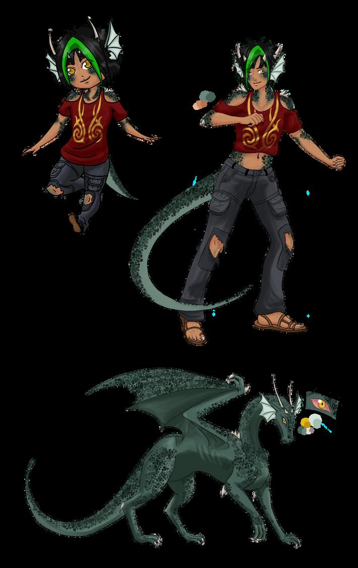 Chua The dragon by PurpleRaven89