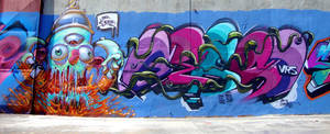graffiti piece by thezork