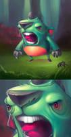 Ac-kua monster by thezork