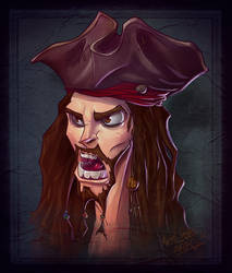 Jack Sparrow by thezork