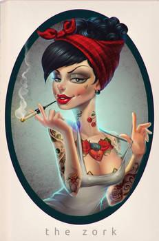 that tattoed girl