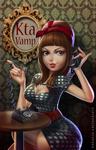 Kta Vamp commissioned portrait