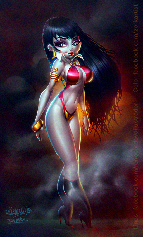 Vampirella by thezork
