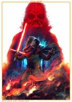 Star Wars the Force Awakens - Fanart by thezork