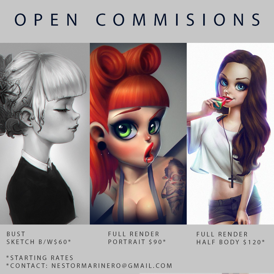 Open Commisions by thezork