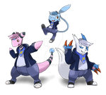 The Many Forms of CrizBN [Art Trade]