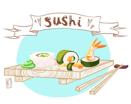 Sushi = love by Cactical