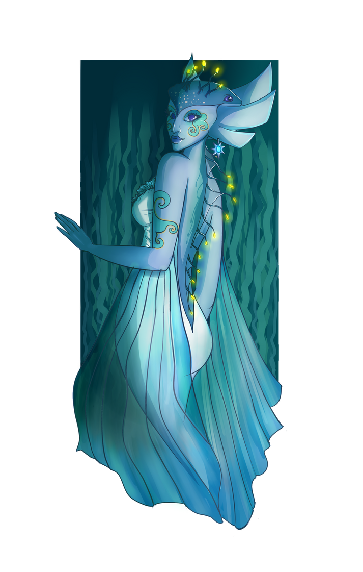 The Last Zora Queen - Request by Cactical
