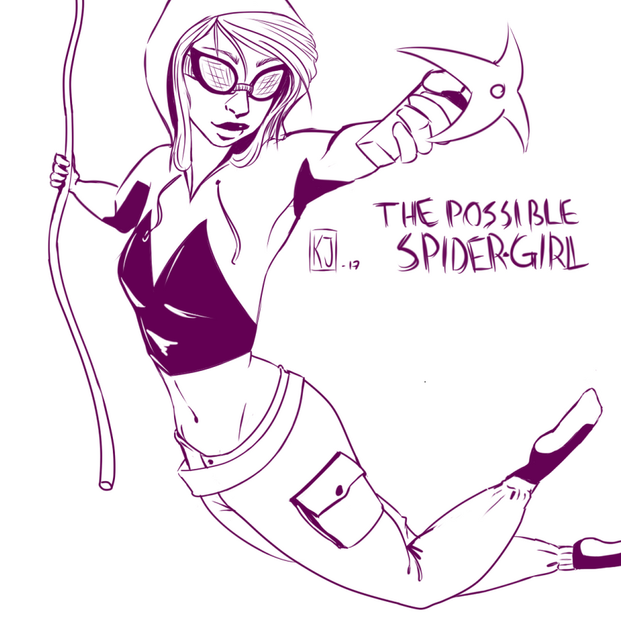 Character fusion: The Possible Spider-Girl by Cactical