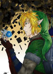 Link and Navi in the twilight