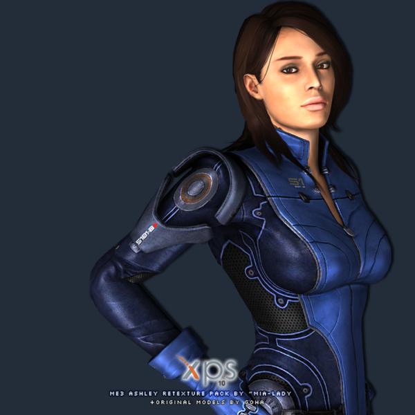 Mass Effect 3 Ashley Sex Scene