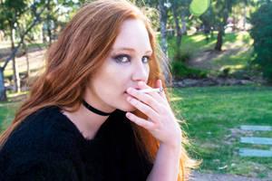 Smoking Stares by CelesteJane