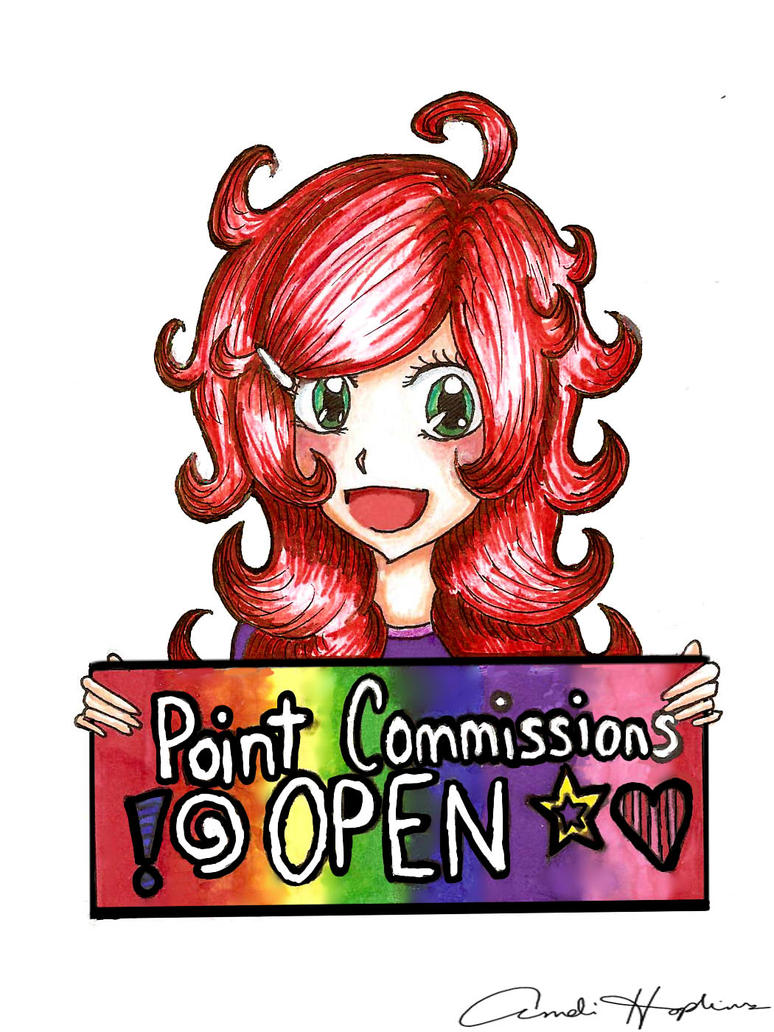 Point Commissions Open by Kaorinya