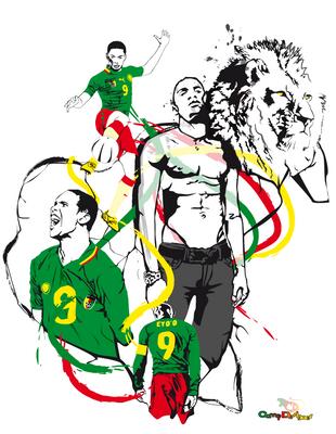 Etoo Indomptable Lion by CamerDesigner