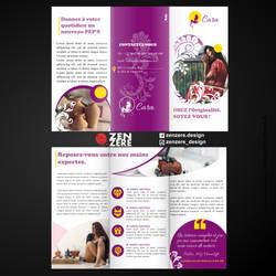 Trifold Brochure design - Cara Template by CamerDesigner