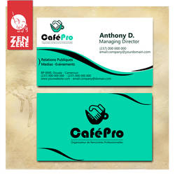 CreBusiness Cards - CafePro template by CamerDesigner