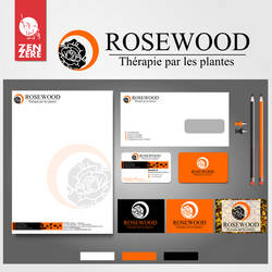 Logodesign and Identity creation - Rosewood by CamerDesigner