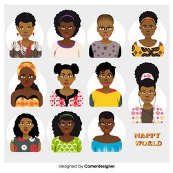 Avatar Afrostyle Nappy 1 by CamerDesigner