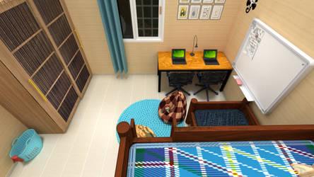 Home 4-Interior design bedroom for kids