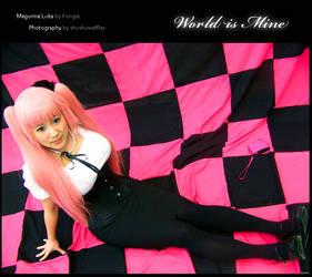 Megurine Luka: World is Mine by Fongie