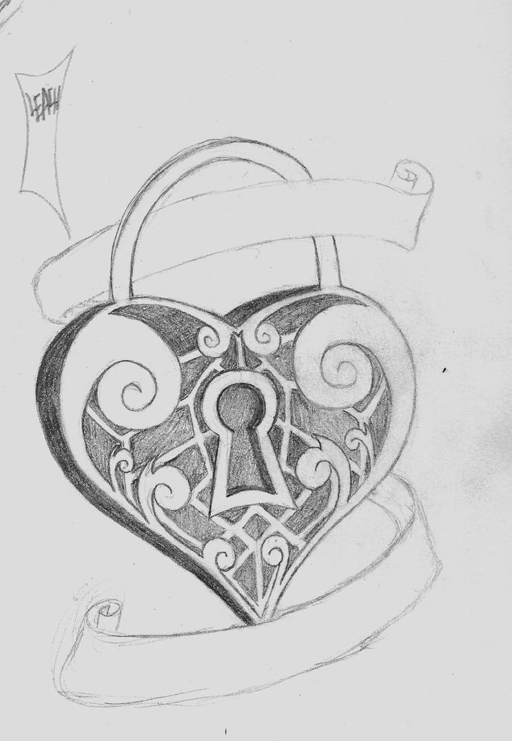 Heart lockets tattoo aol image search results buycottarizona Choice Image
