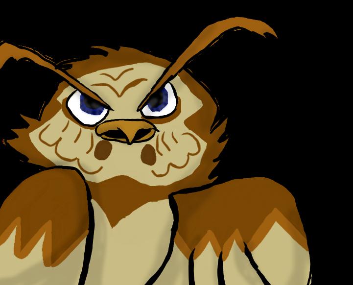 Spoiler Owl by OreotheCookieKitty