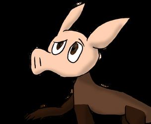 Weekly Animal 4 - Aardvark by OreotheCookieKitty