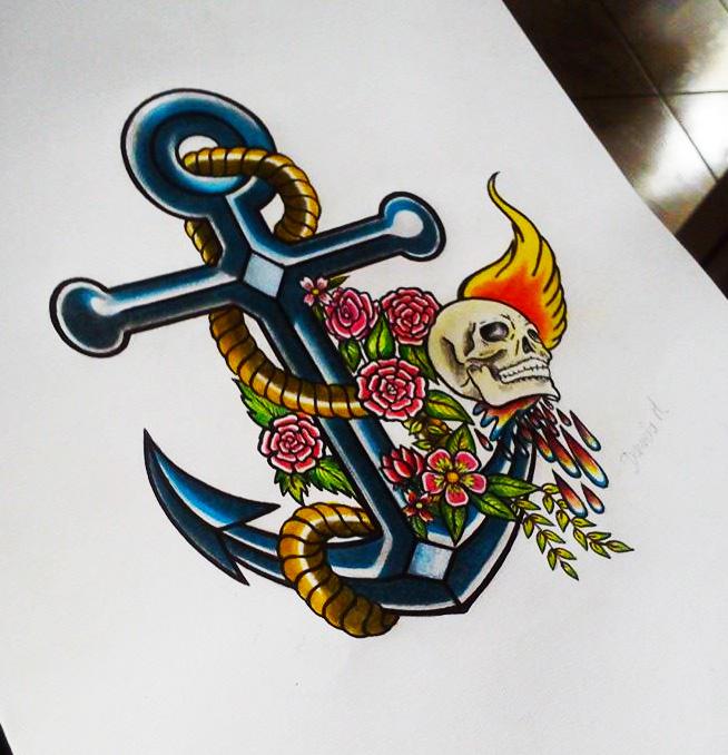 Design of tattoo. by danimorl11