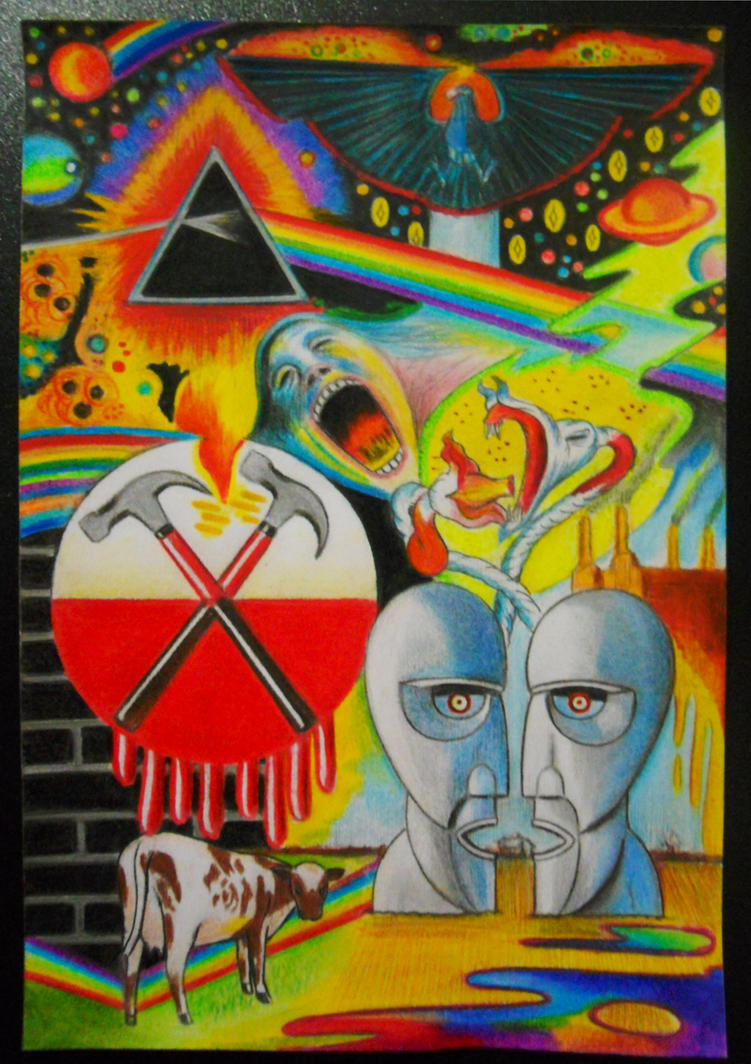 Pink Floyd art. by danimorl11