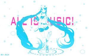 IT'S ME, I'M MUSIC! by A-L-Vi