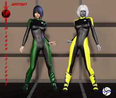 Mirror Universe Jumpsuit part 3 by ShadowhawkOne