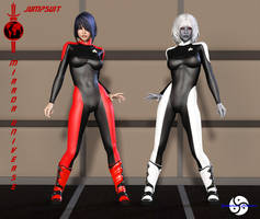 Mirror Universe Jumpsuit part 4 by ShadowhawkOne