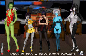 Looking for a few good Women by ShadowhawkOne