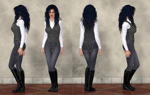 Ariadne DuJardin by ShadowhawkOne