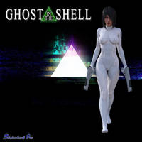 Ghost in the Shell by ShadowhawkOne