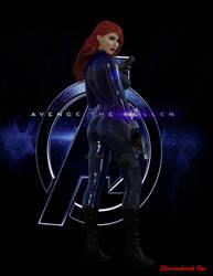 Black Widow by ShadowhawkOne
