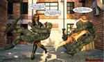 Sable and Strykana teamup by ShadowhawkOne