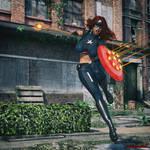 Aura Lockhaven the first Avenger