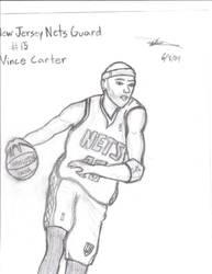 Vince Carter: New Jersey Nets