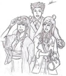 Phoenix Ema And Maya