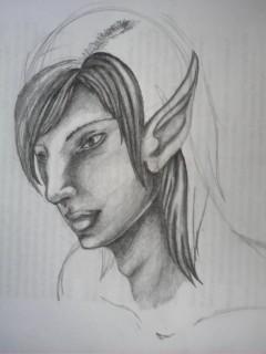 Elfish guy by driochtor