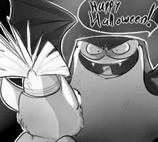 Halloweenie by kancle