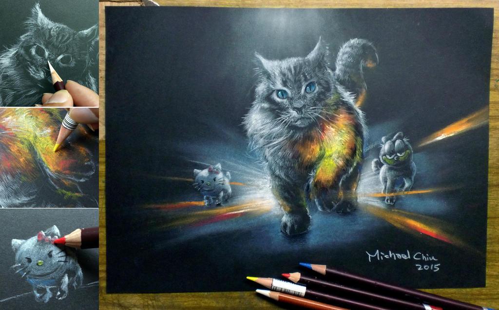 Cat in BATTLEFIELD-style by Michael-Chiu-2013