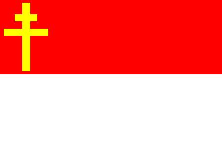 Drapeau d'Alsace-Lorraine ~ Elsass-Lothringen flag by x--Siegfried--x